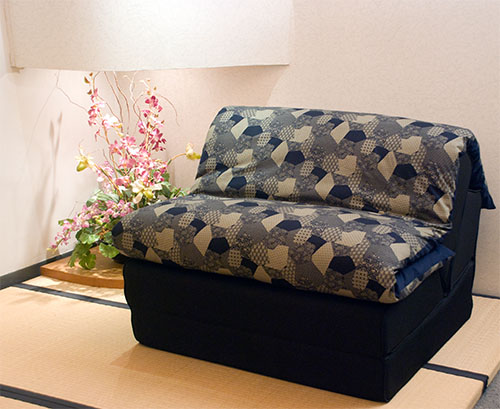 Love seat sofa bed japanese futon bedding sleep exquisite for Sofa bed japan